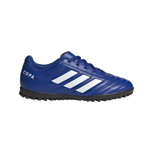 adidas adidas scarpa calcetto bambino copa 20.4 tf azzurro