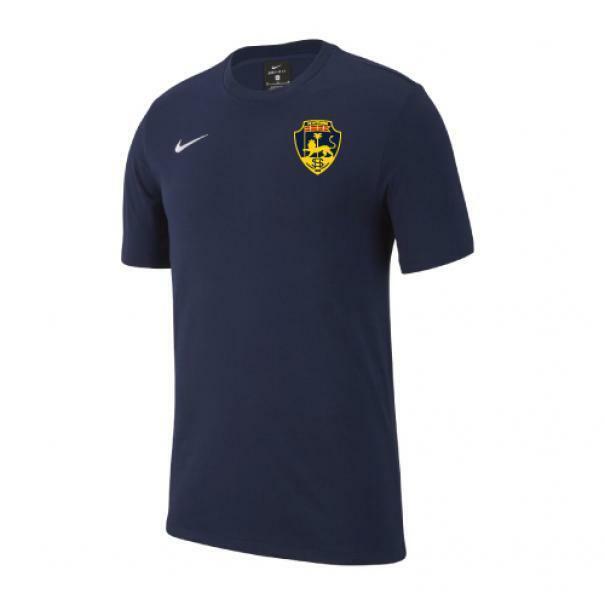 nike viterbese nike t-shirt team blu