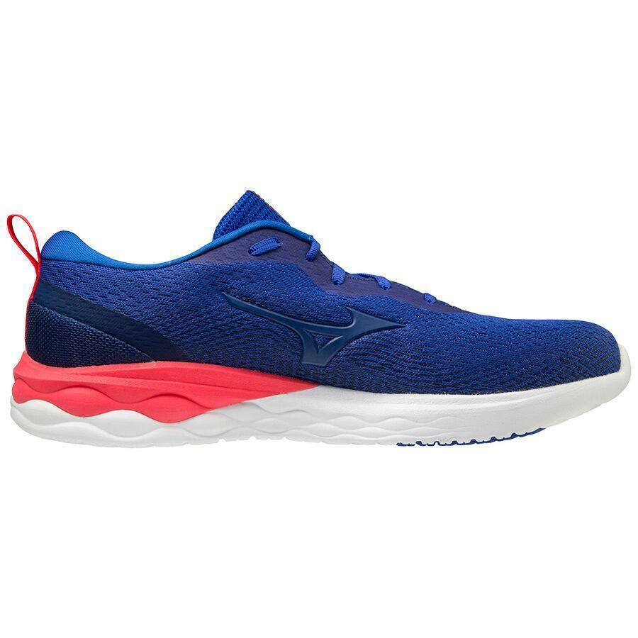 mizuno mizuno scarpa running wave revolt azzurro