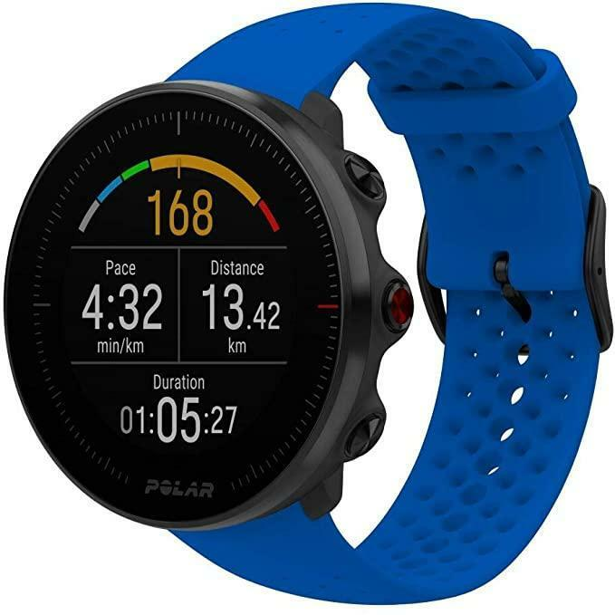 polar polar smartwatch vantage m blue m/l