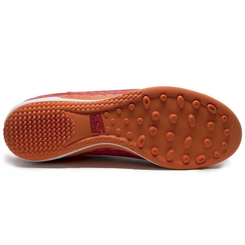 gems scarpa calcetto tiger evo tf rosso