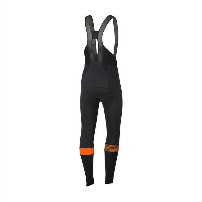 sportful sportful calzamaglia bodyfit pro nero/arancio