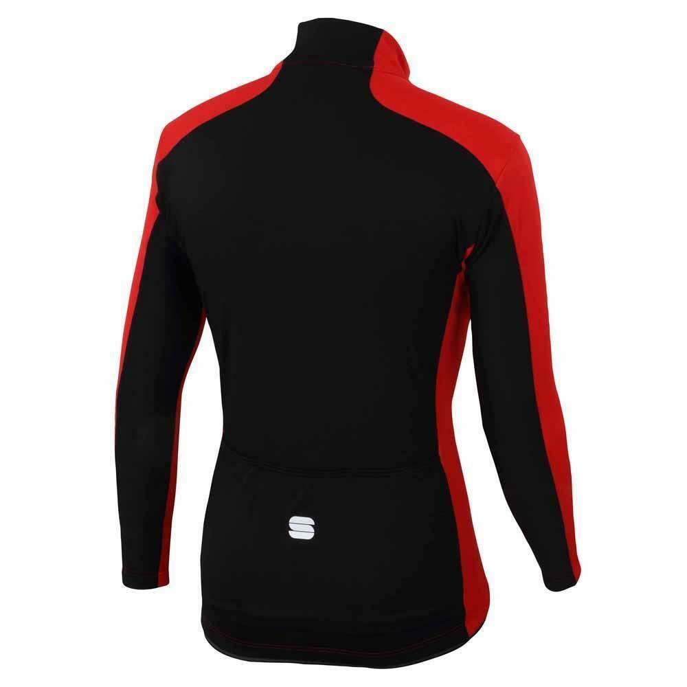 sportful sportful giacca tempo windstopper rosso