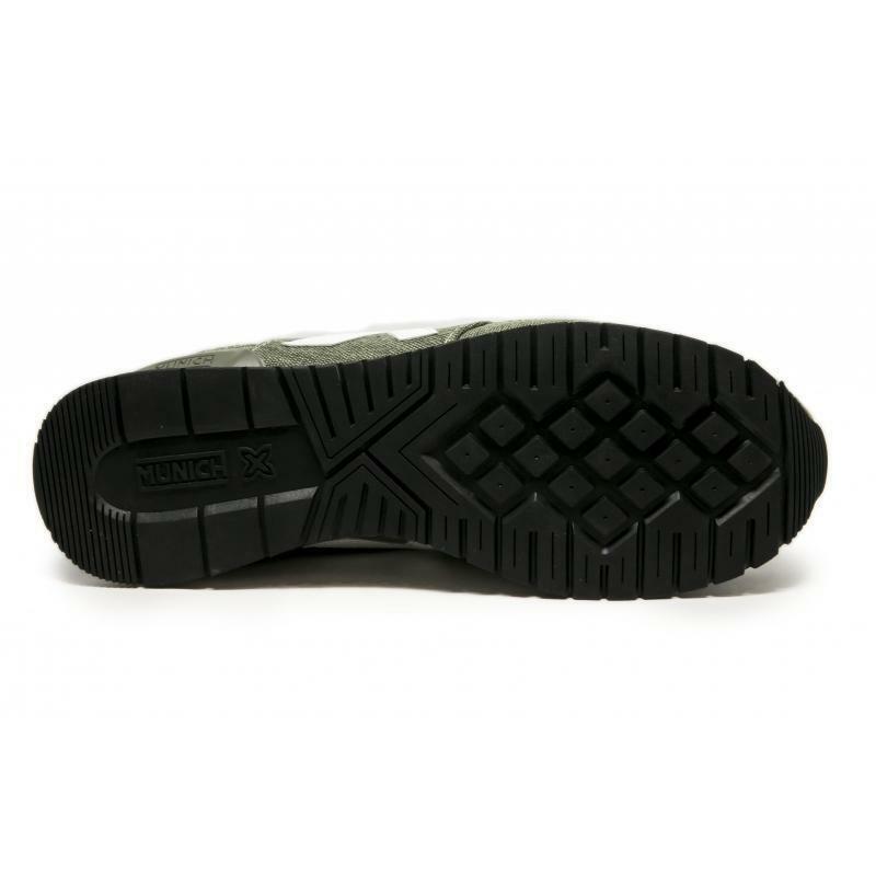 munich munich scarpa sneaker dash canvas verde