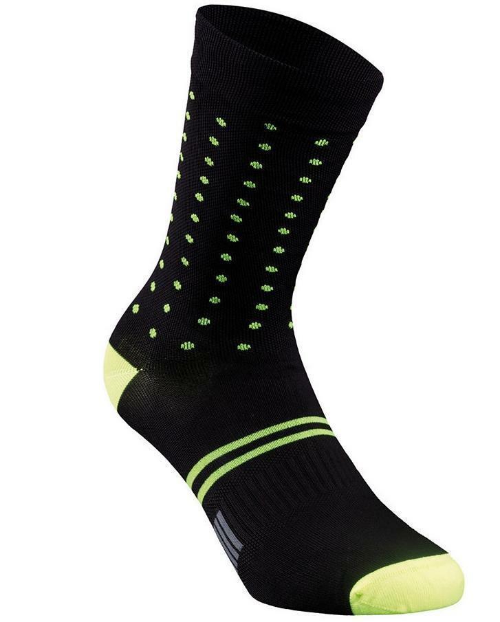 specialized specialized calza a pois unisex nero/azzurro