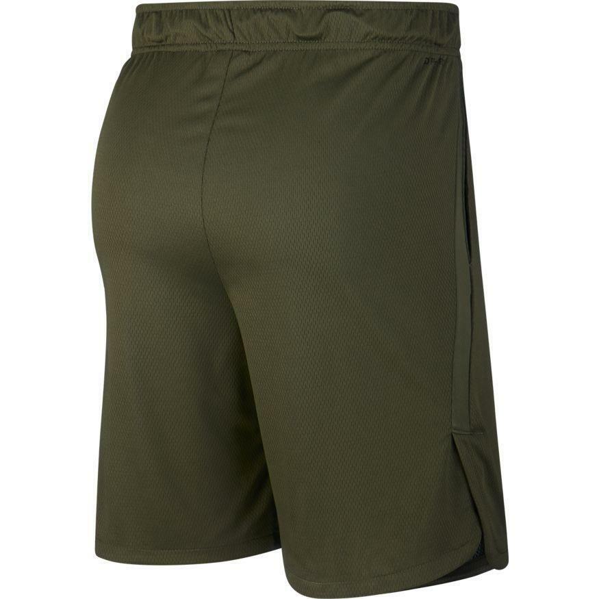 nike nike pantaloncino training dry verde