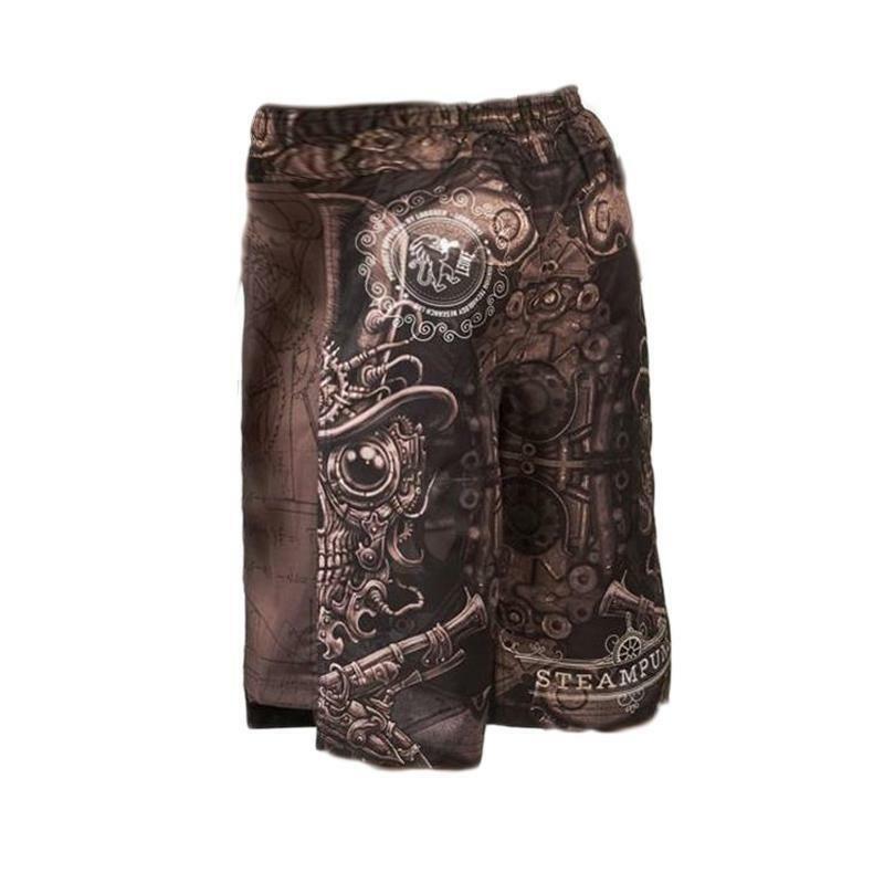 leone leone pantaloncini mma steampunk