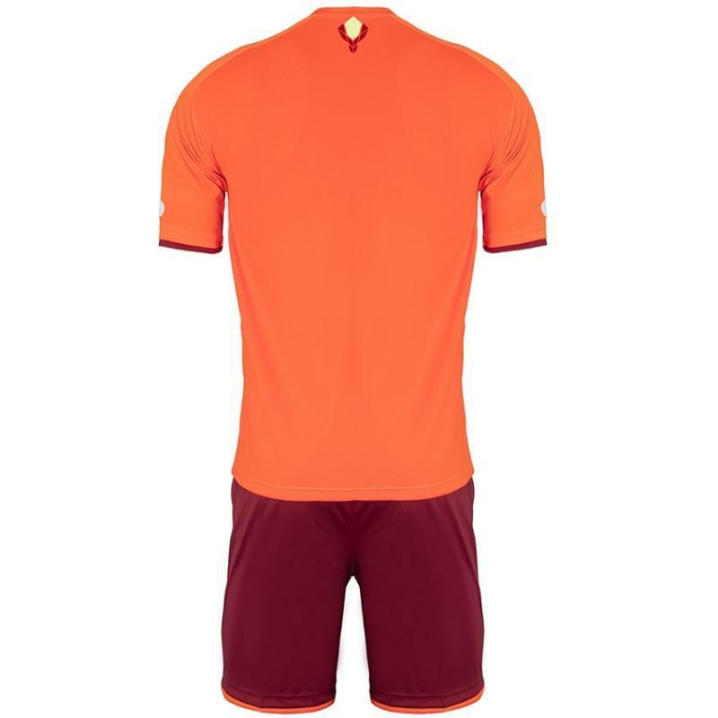 gems gems kit calcio viper arancio/bordeaux