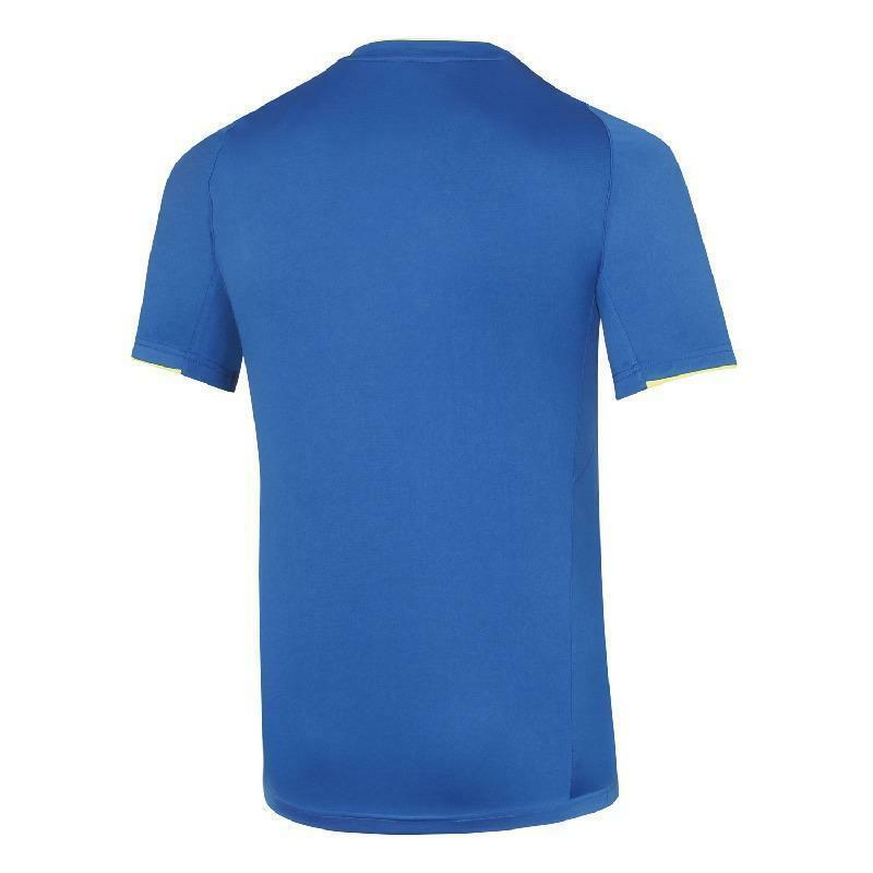 mizuno mizuno t-shirt bambino core azzurro