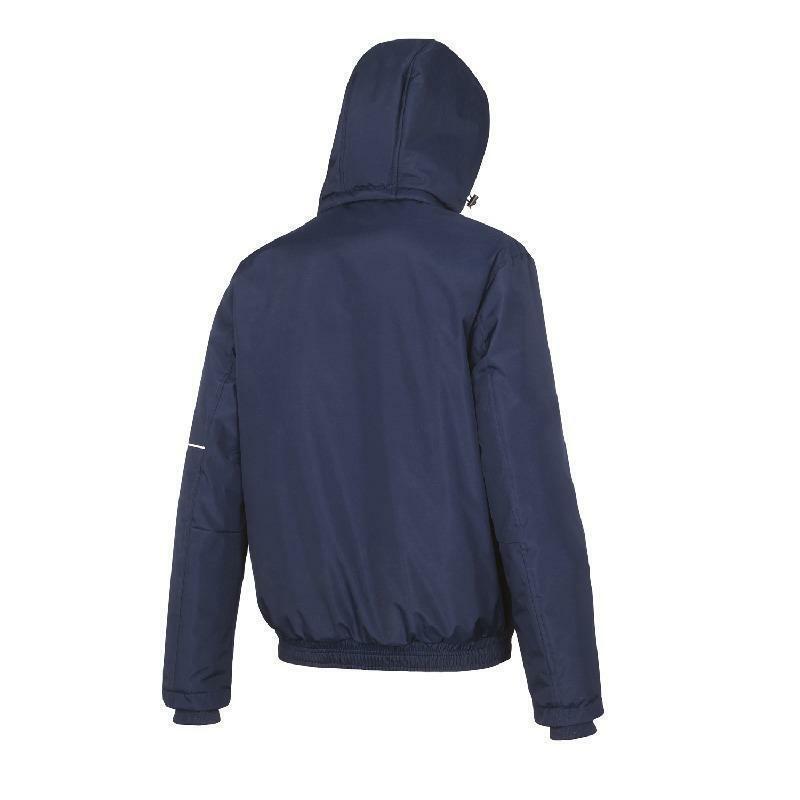 mizuno mizuno giacca bambino bomber trad blu