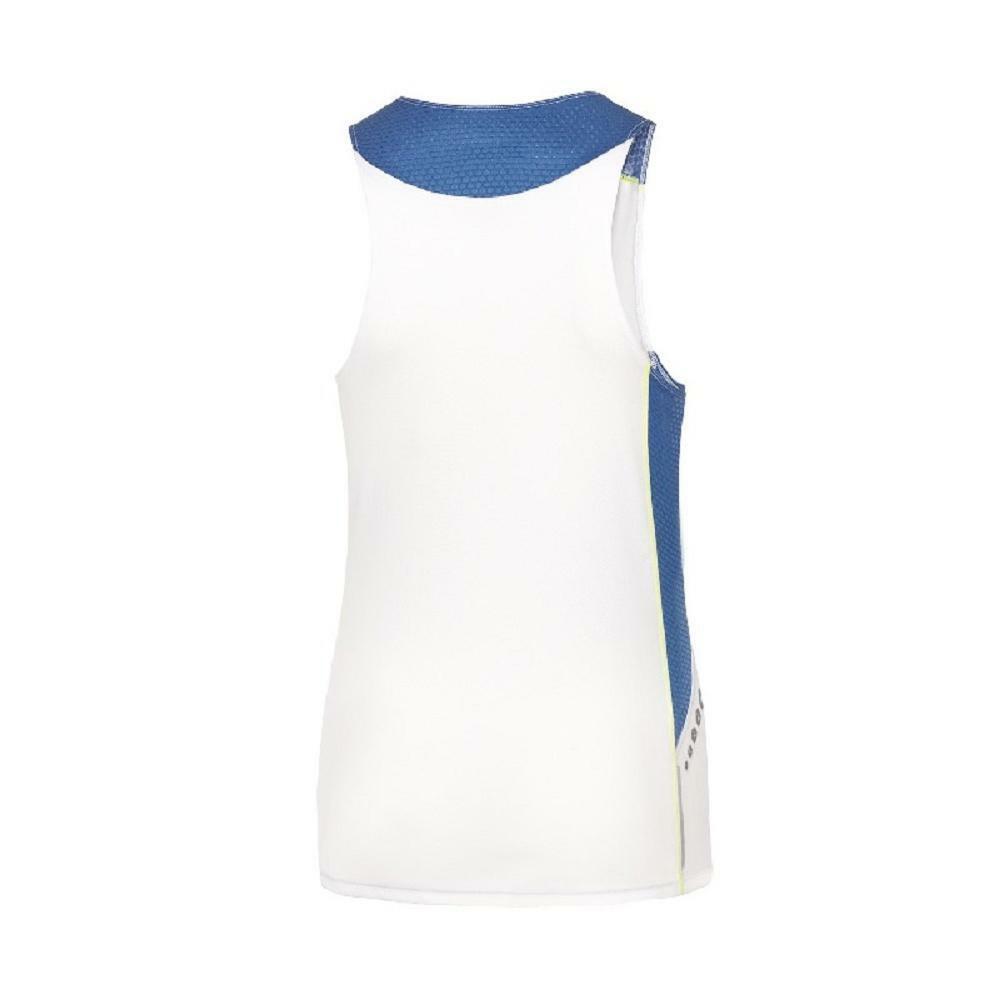 mizuno mizuno canotta premium jpn donna bianco/azzurro