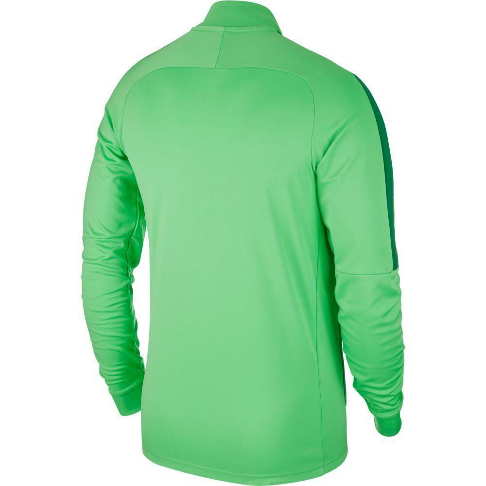 nike nike giacca tuta academy 18 verde fluo
