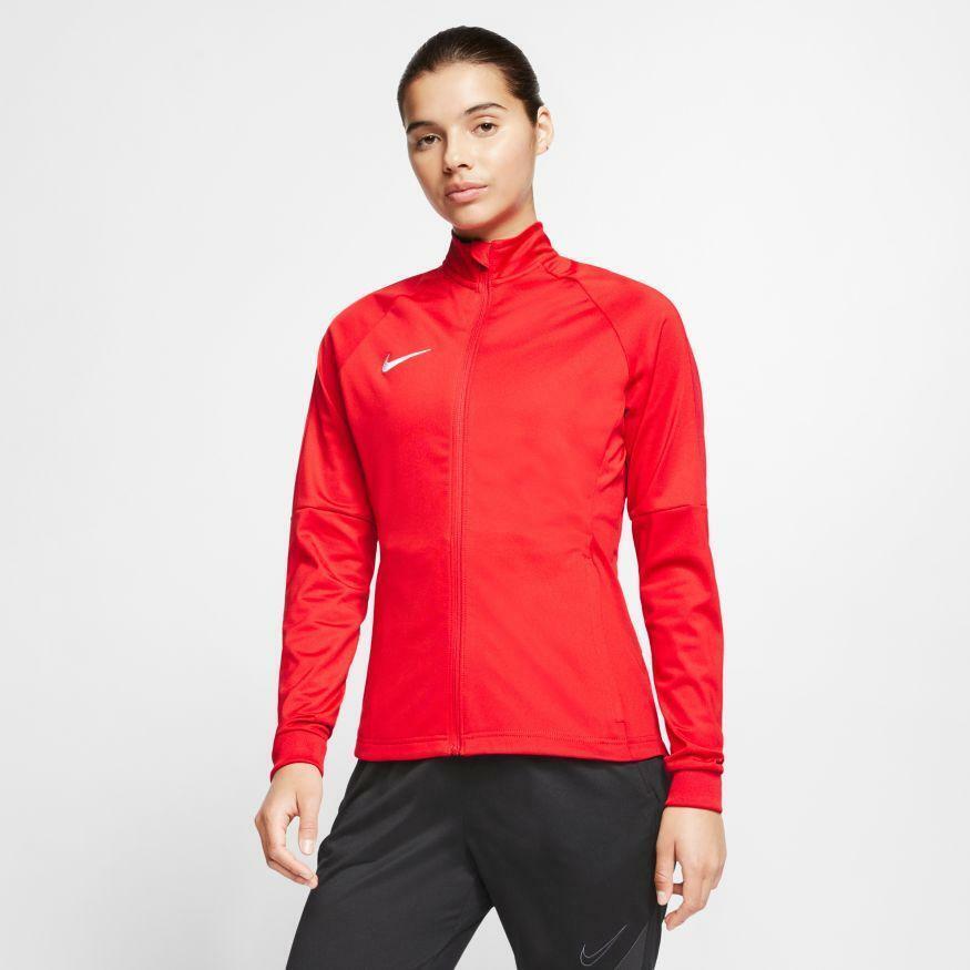 nike giacca tuta donna academy 18 rosso