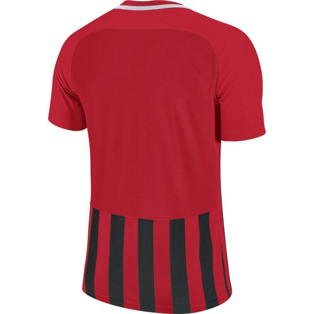 nike nike maglia stripped mc iii rosso/nero