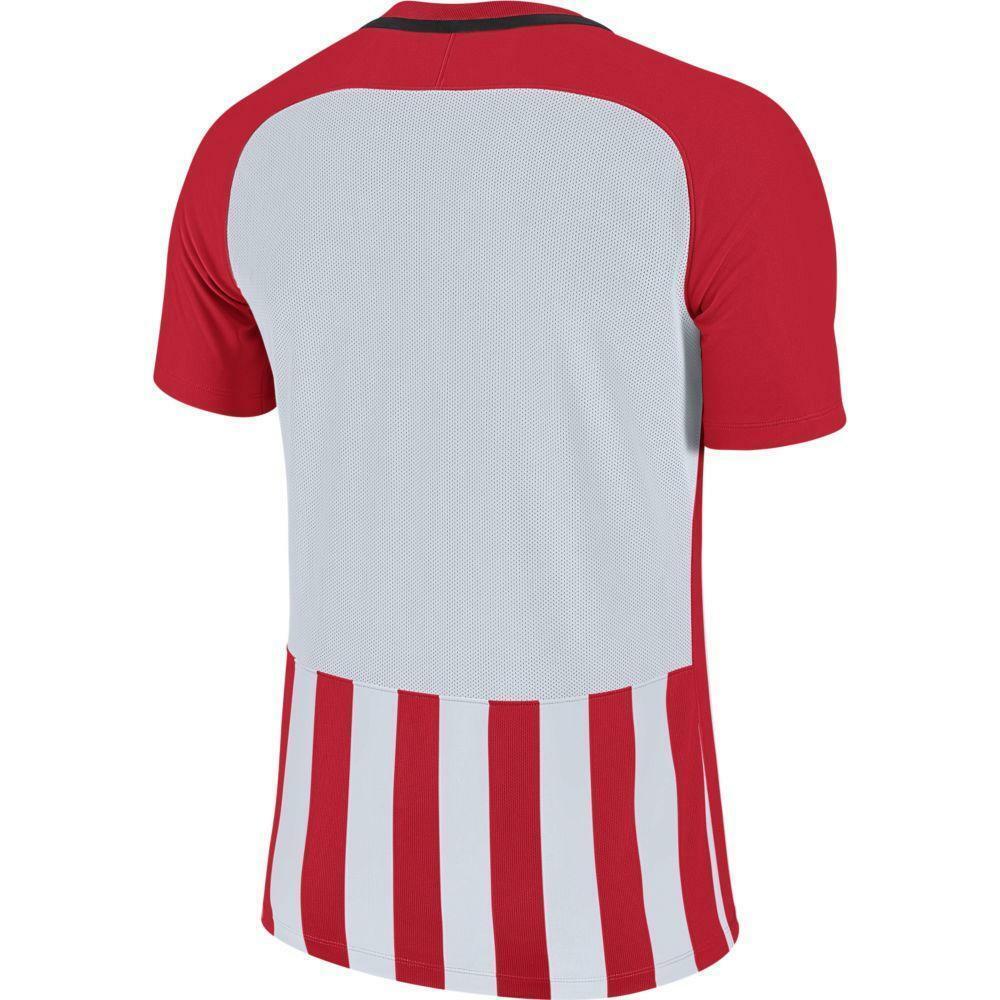 nike nike maglia stripped mc iii rosso/bianco