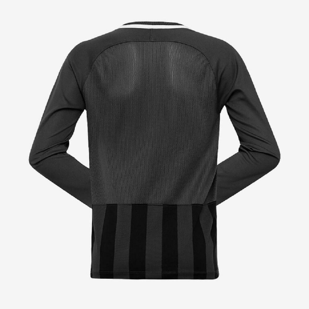 nike nike maglia stripped ml iii bambino grigio, nero