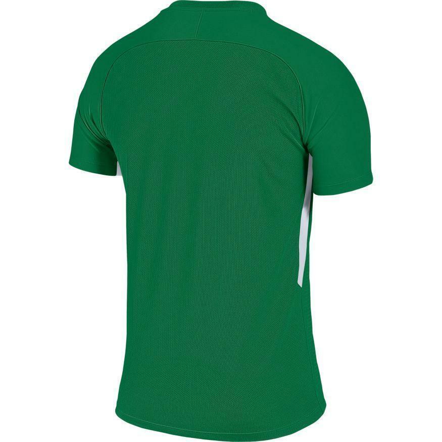 nike nike maglia calcio tiempo premier verde/bianco