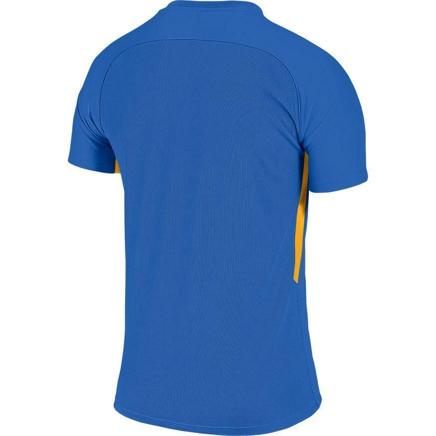 nike nike maglia calcio tiempo premier azzurro/giallo