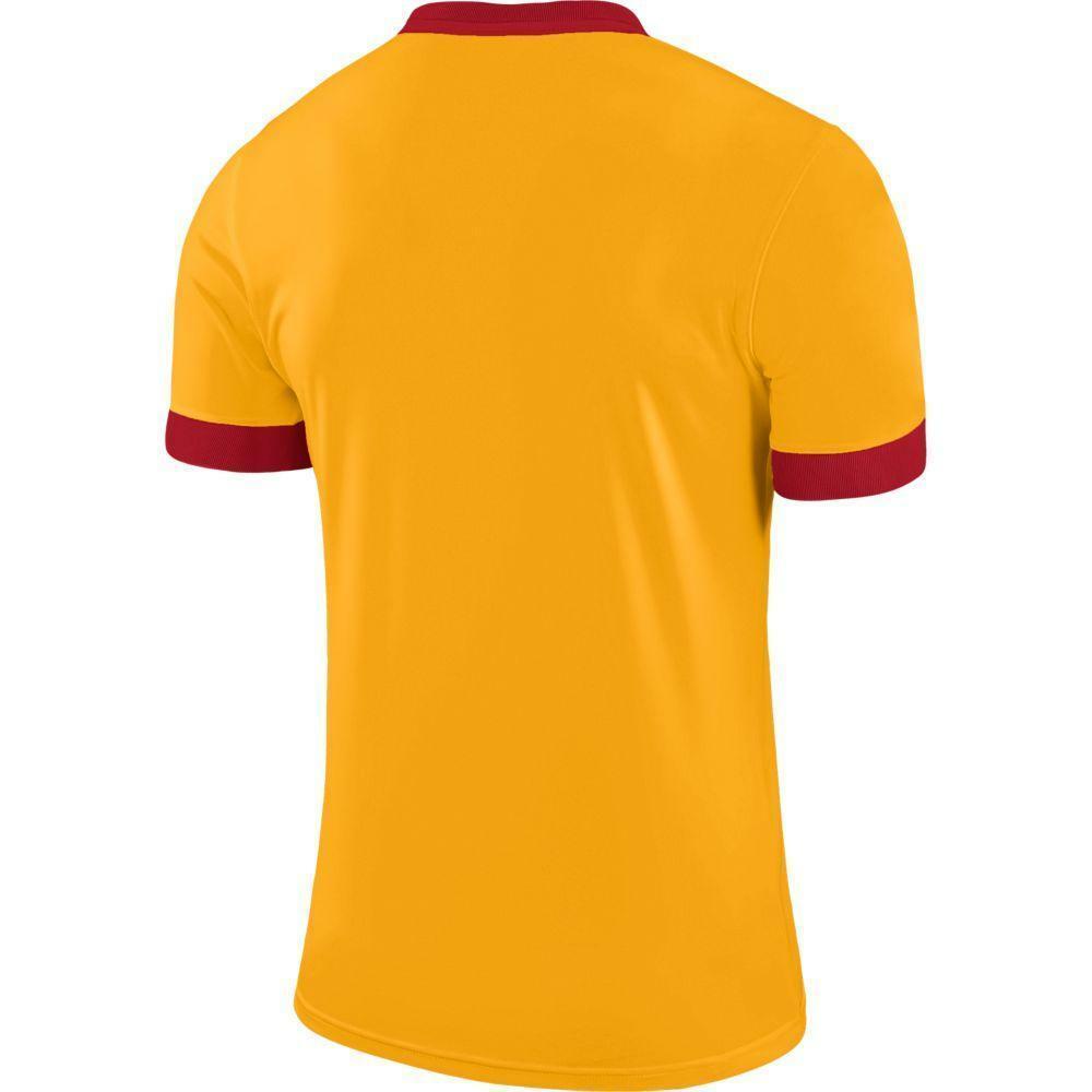nike nike maglia park derby ii giallo/rosso