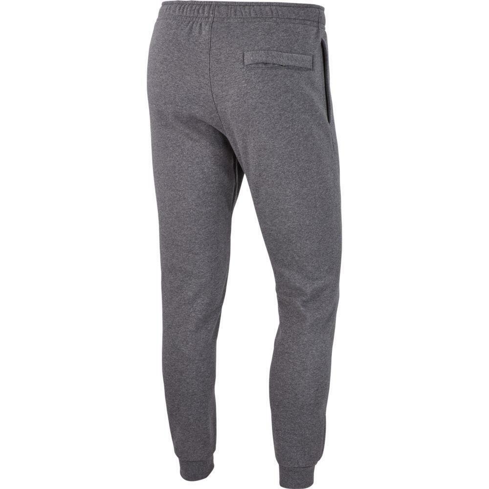 nike nike pantalone felpato club 19 grigio