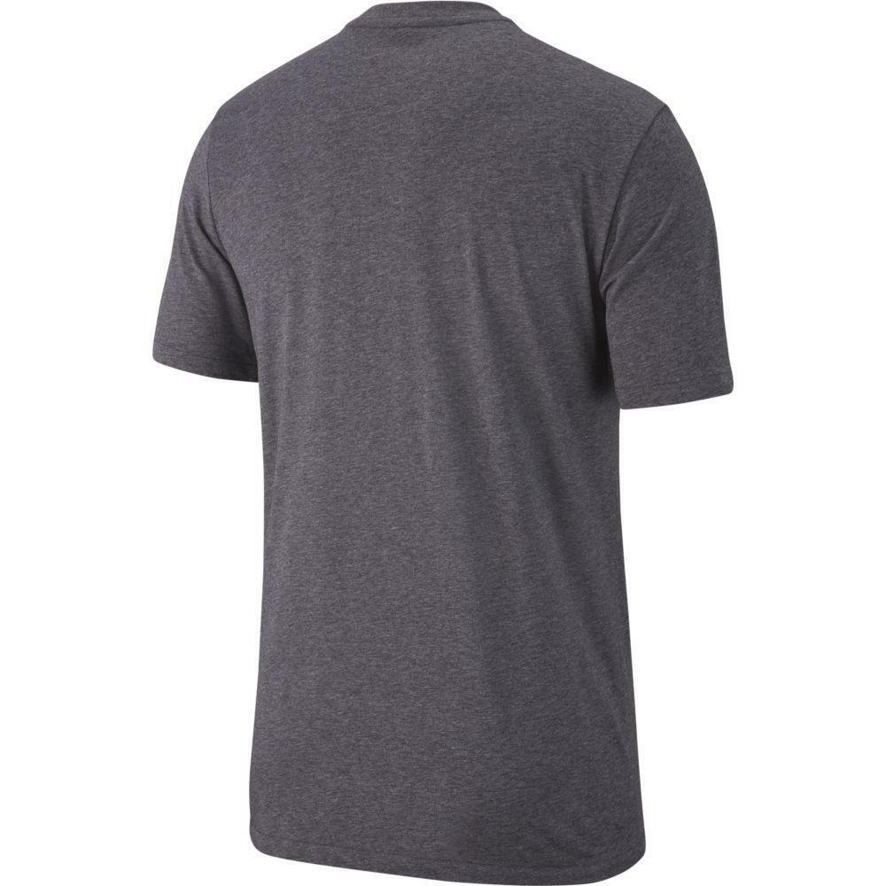 nike nike t-shirt team club 19 grigio