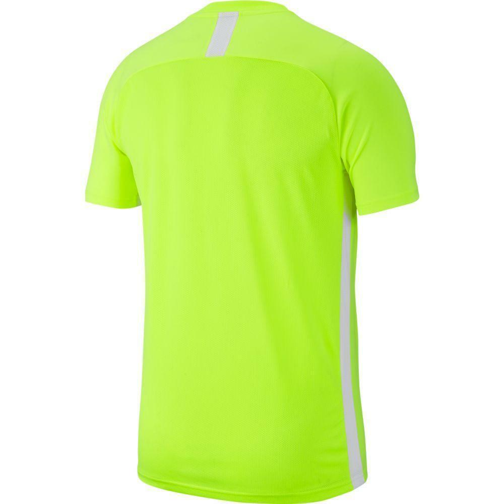 nike nike maglia academy 19 giallo fluo