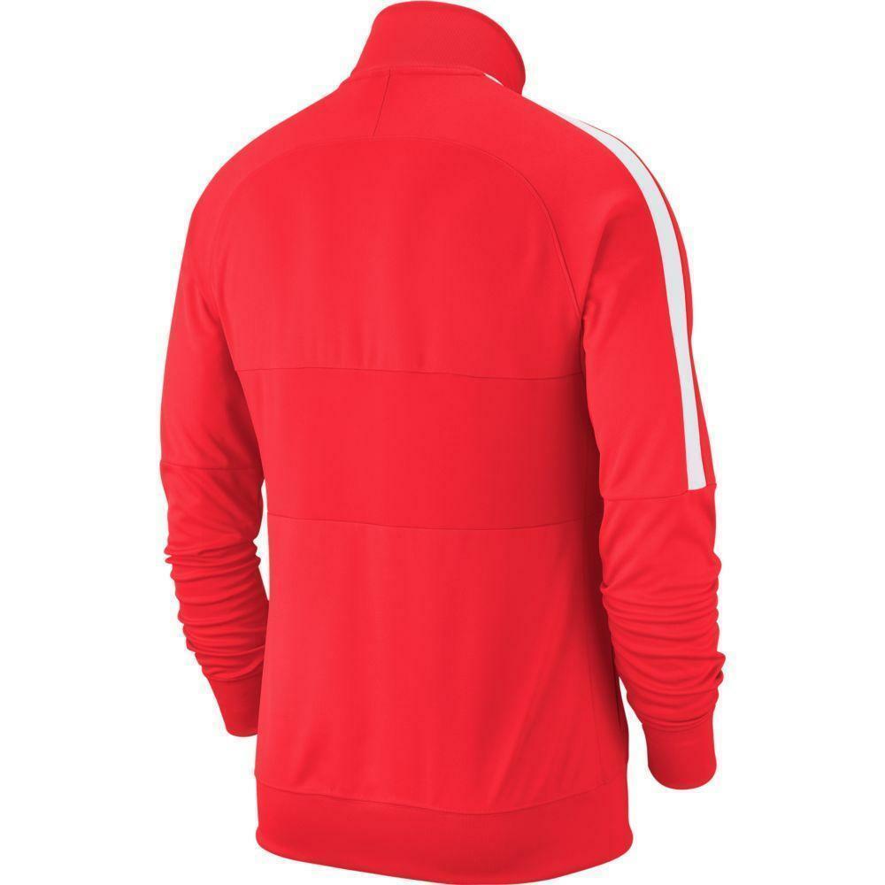 nike nike giacca bambino academy 19  rosso fluo