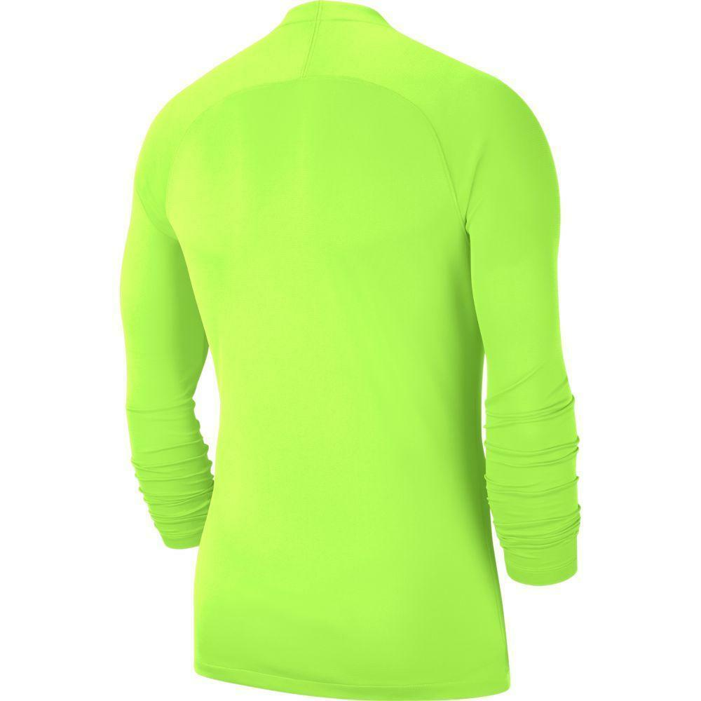 nike nike maglia termica park first layer  giallo fluo