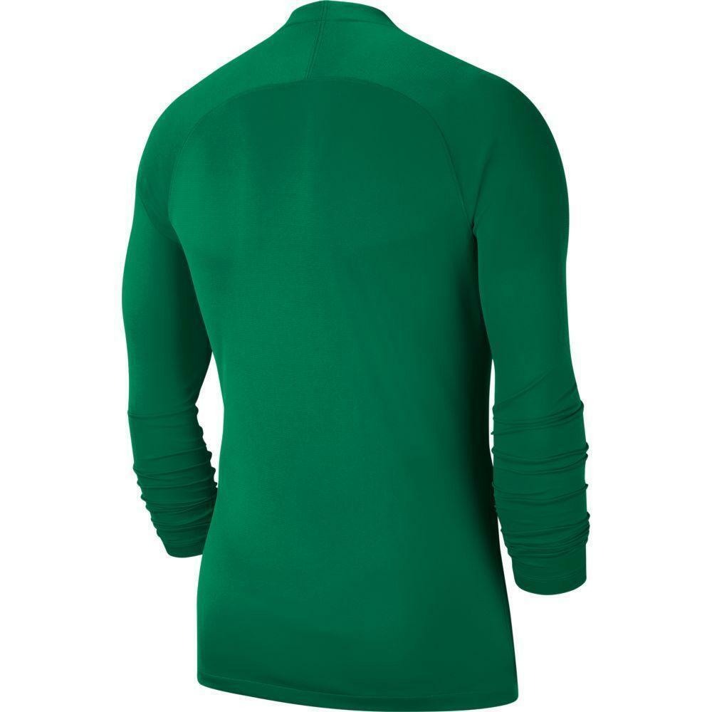 nike nike maglia termica bambino park first layer verde