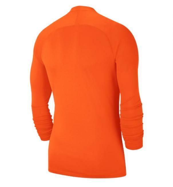 nike nike maglia termica bambino park first layer arancio