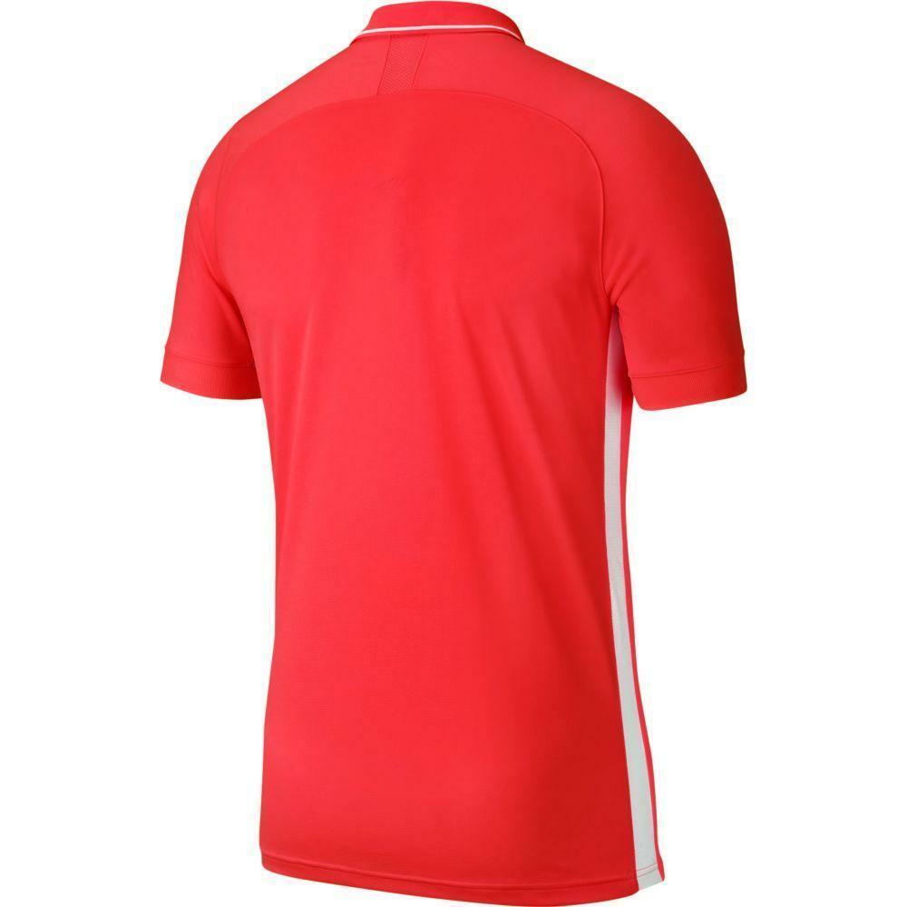nike nike polo academy 19 rosso fluo
