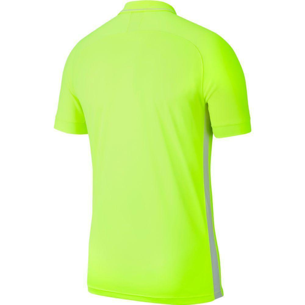 nike nike polo academy 19 giallo fluo