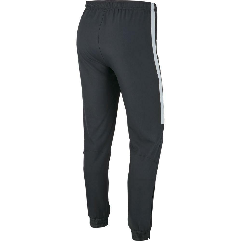 nike nike pantalone tuta academy woven 19 grigio