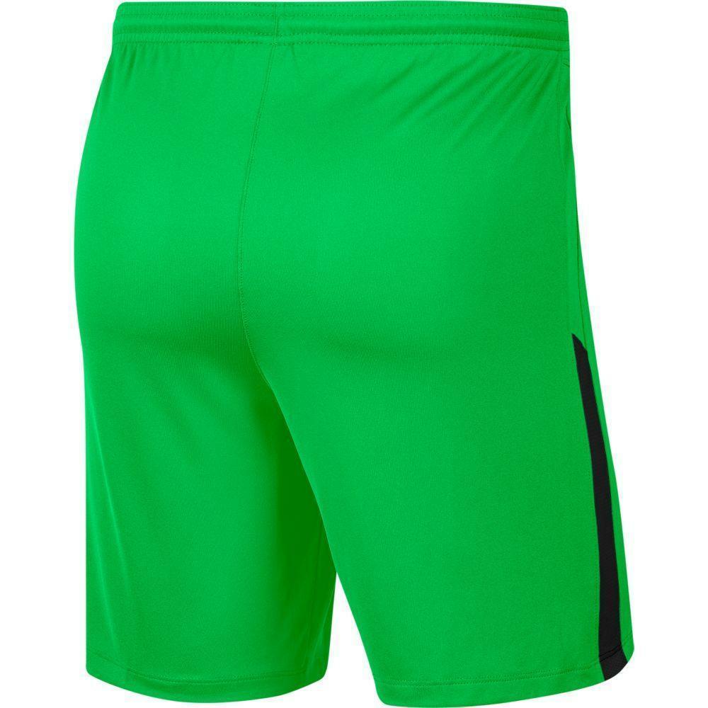 nike nike pantaloncino bambino league knit ii  verde fluo