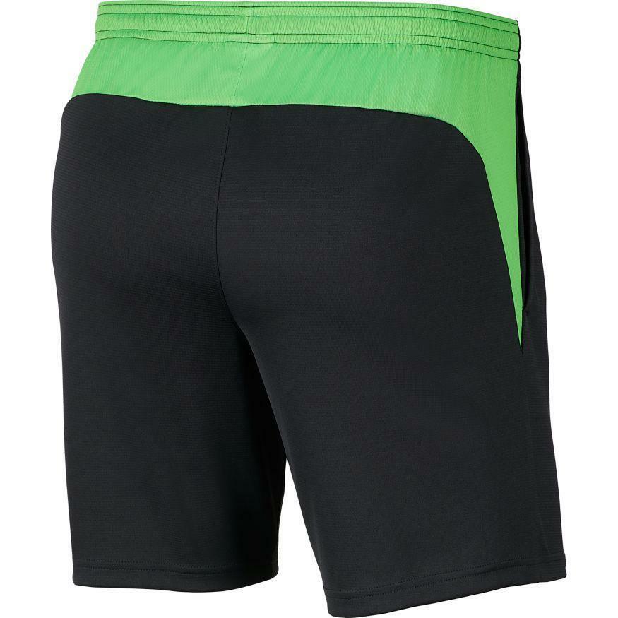 nike nike pantaloncino academy 20  verde fluo