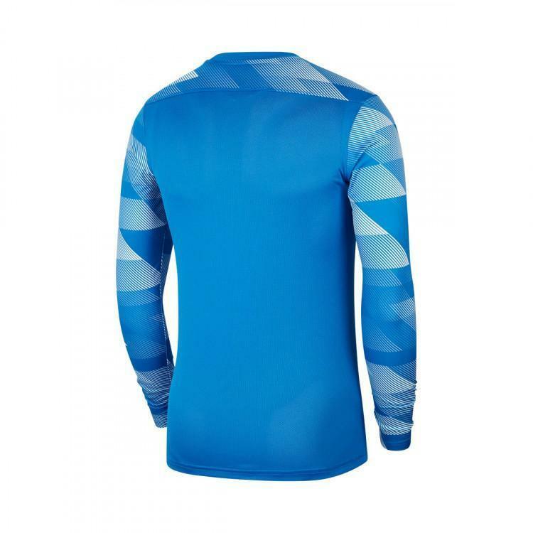 nike nike maglia portiere park iv azzurro