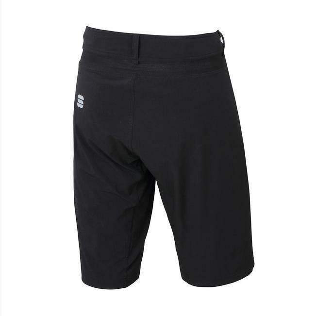 sportful sportful pantaloncino giara overshort nero