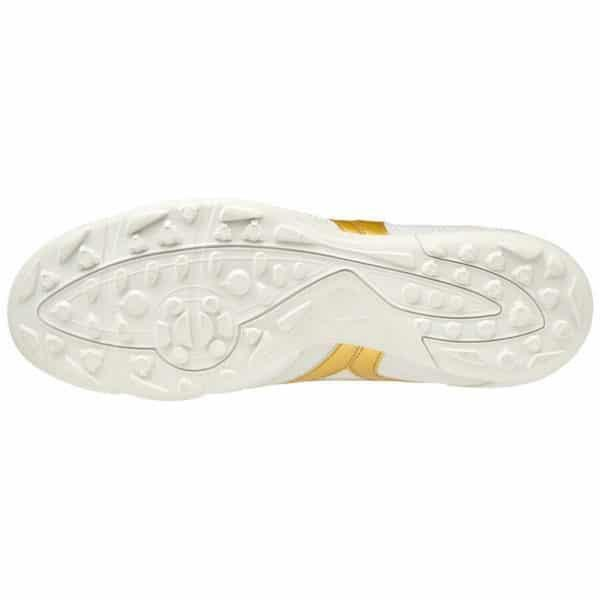 mizuno mizuno scarpa calcetto morelia sala club tf bianco/oro