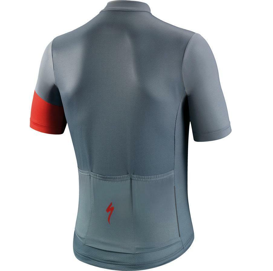 specialized specialized maglia mc rbx comp logo grigio/rosso