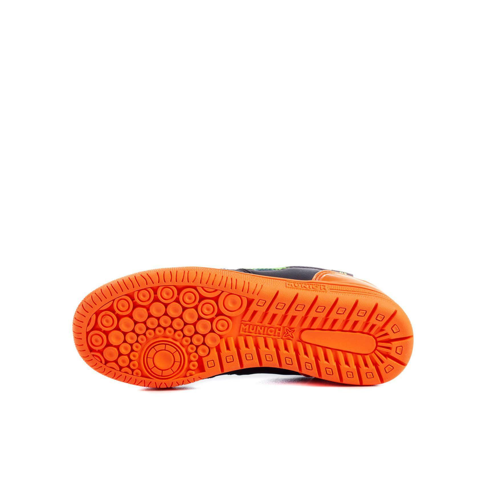 munich munich scarpa calcetto bambino g-3 kid profit blu/arancio