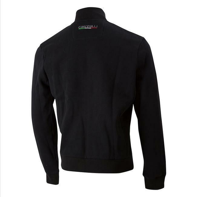castelli castelli felpa milano track jacket black