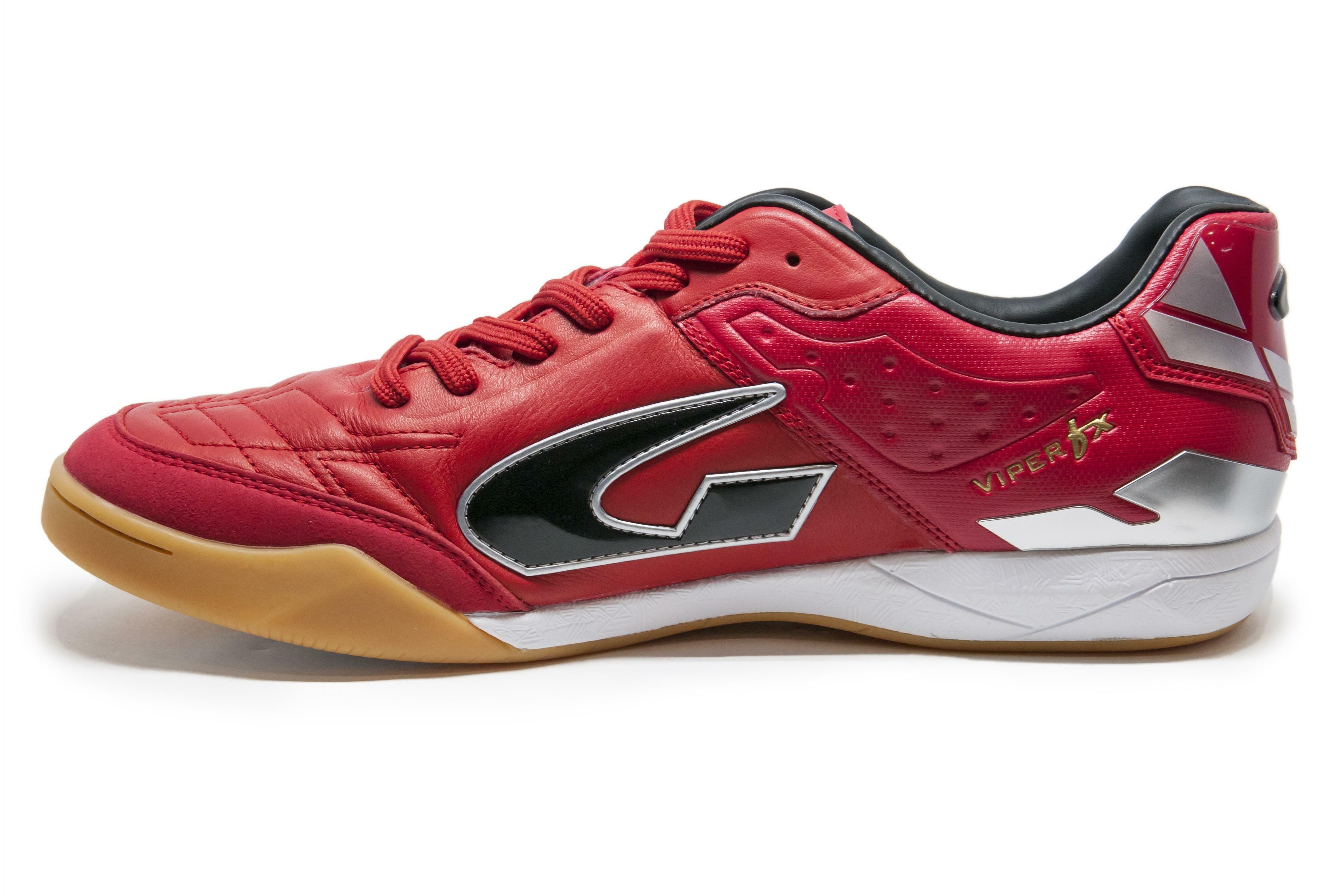 gems gems scarpa calcetto viper fx in rosso