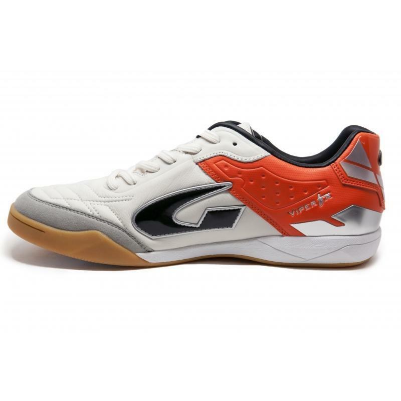 gems gems scarpa calcetto viper fx in arancio