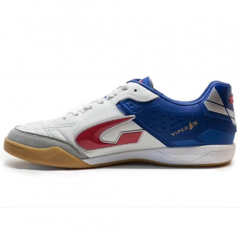 gems gems scarpa calcetto viper fx in bianco/blu