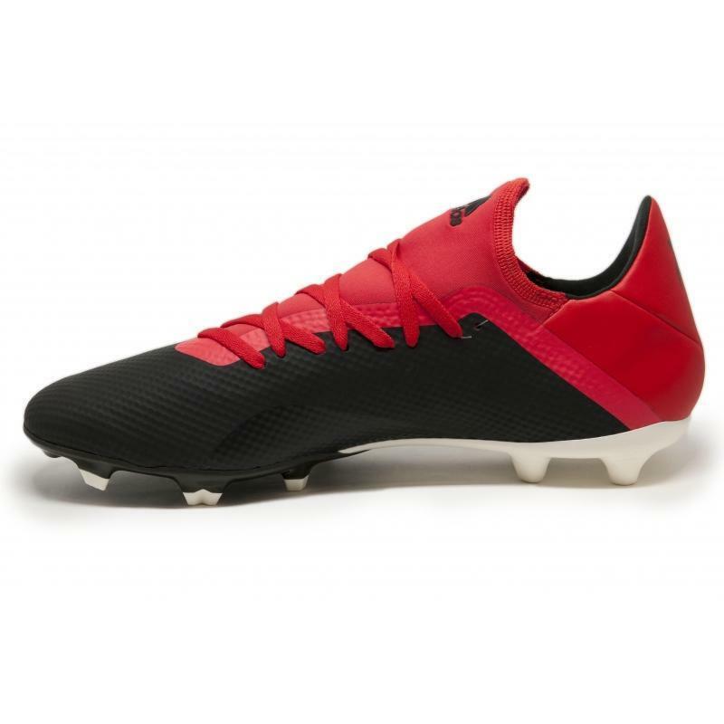 adidas adidas scarpa calcio x 18.3 fg nero/rosso
