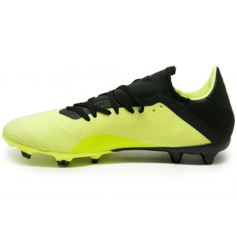 adidas adidas scarpa calcio x 18.3 fg giallo fluo