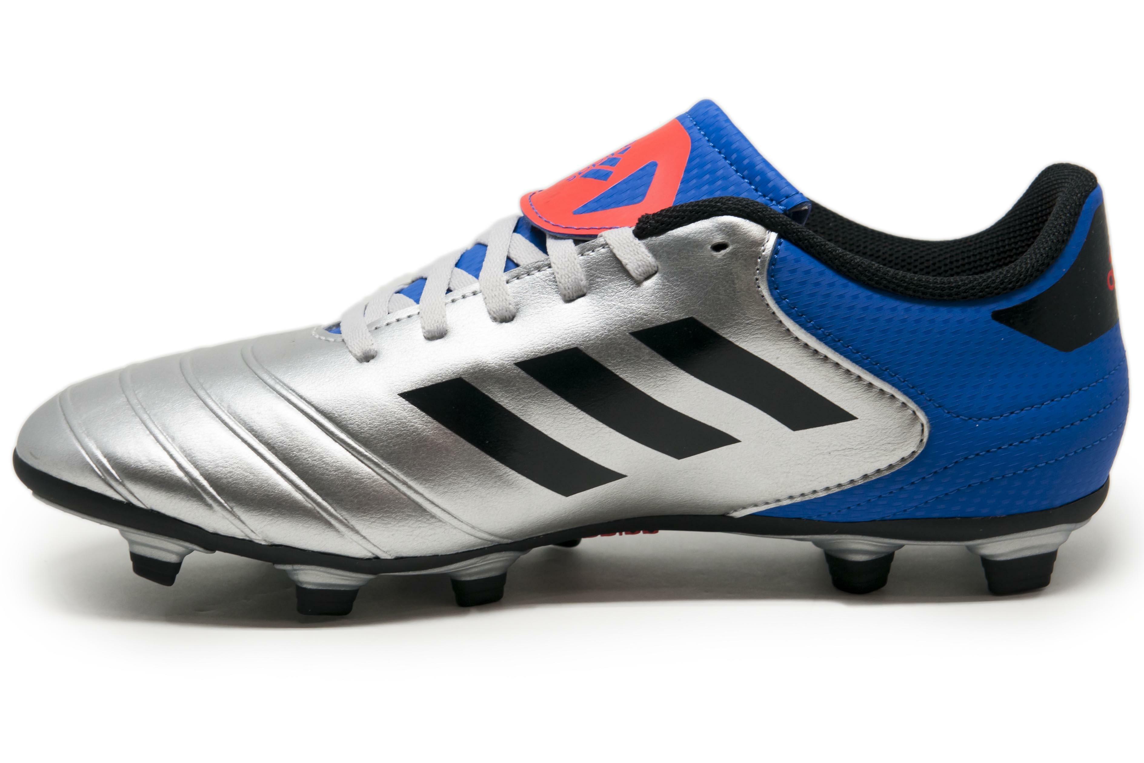 adidas adidas scarpa calcio copa 18.4 fxg grigio/azzurro