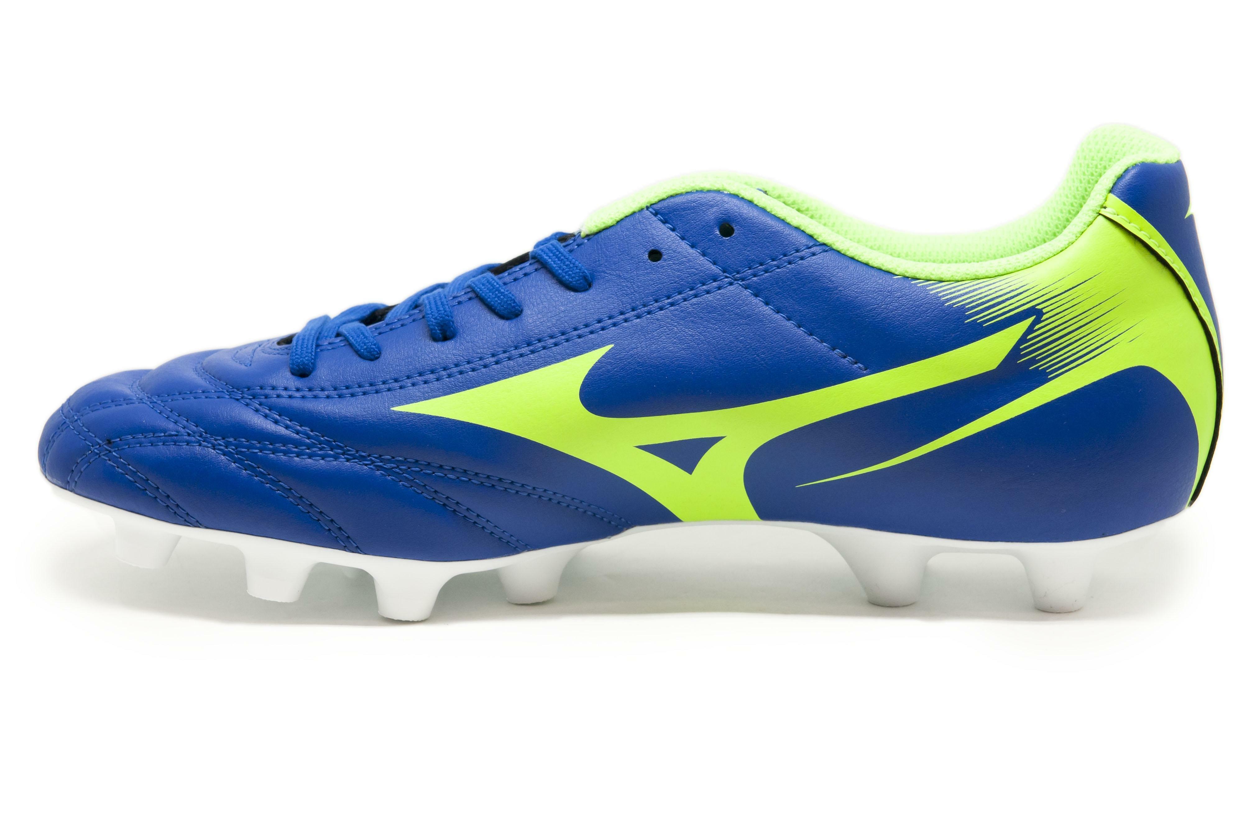 mizuno mizuno scarpa calcio monarcida neo md blu/verde