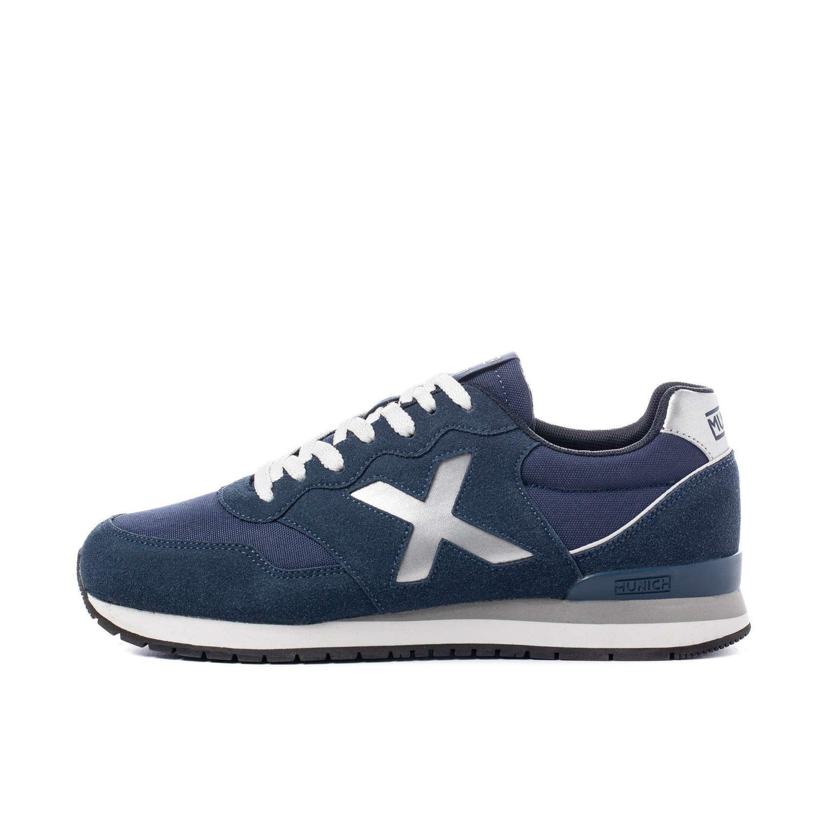munich munich scarpa sneaker dash blu