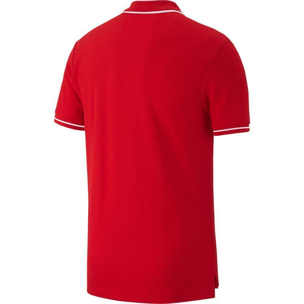 nike nike polo team club 19 rosso